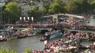 Amsterdam Le Magere brug Live Stream