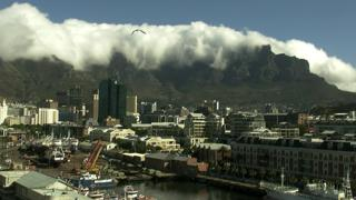 Cape Town Table Mountain Timelapse