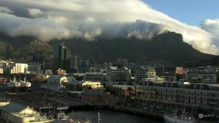 Cape Town Table Mountain Live Stream