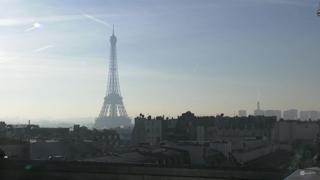 Paris Eiffel Tower Timelapse