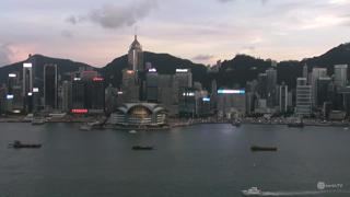 Hong Kong Victoria Harbor Weather Clip