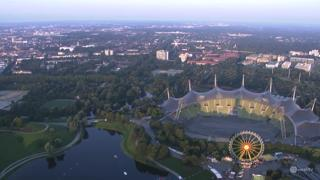Munich Olympic Park Timelapse