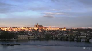Prague Charles Bridge Weather Clips