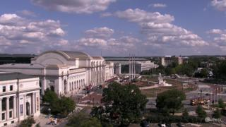 Washington D.C. Kapitol Wetter Clips