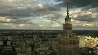 Warsaw Palace of Culture Timelapse