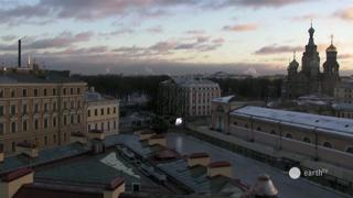 Saint Petersburg Church of the Savior on Blood Timelapse