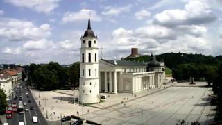 Vilnius Cathedral Square Live Stream