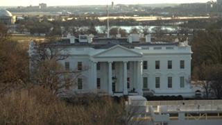 Washington D.C. White House Timelapse