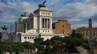 Rome Top Public Squares Weather Clips