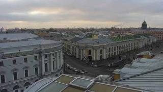 Saint Petersburg Nevsky Prospect Weather Clips